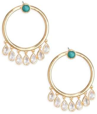 Jules Smith Designs Calypso Crystal Hoops