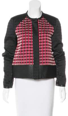 Proenza Schouler Woven Button-Up Jacket