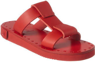 Valentino Runway Leather Slide