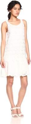 Desigual Women's Barcelona Woven Sleeveless Dress, White, M
