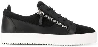 Giuseppe Zanotti Design side zipped sneakers