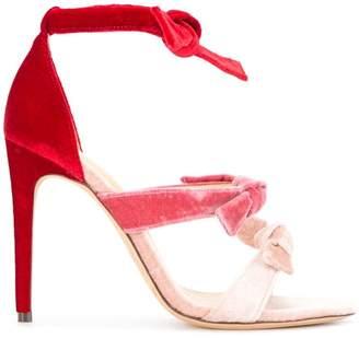 Alexandre Birman gradient bow sandals