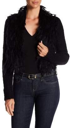 Eileen Fisher Cropped Mohair Blend Kimono Jacket