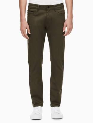 Calvin Klein slim straight 5-pocket pants