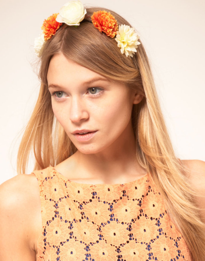 ASOS Carnation Flower Headband