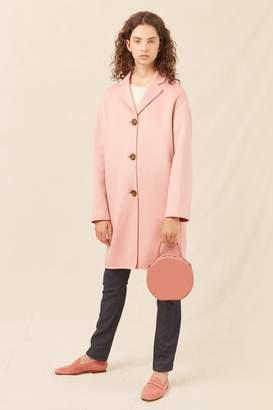 Mansur Gavriel Cashmere Classic Coat - Blush