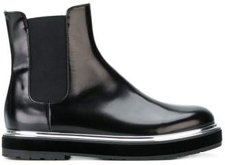 AGL chunky Chelsea boots