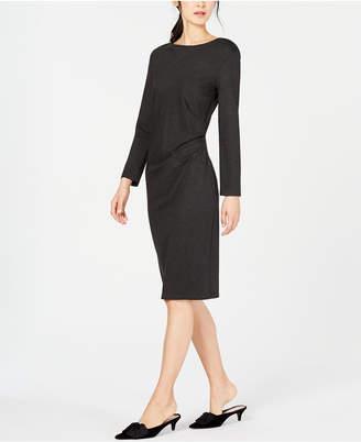 Max Mara Gianni Side-Ruched Dress