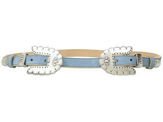 Leather Rock Isabel Double Belt