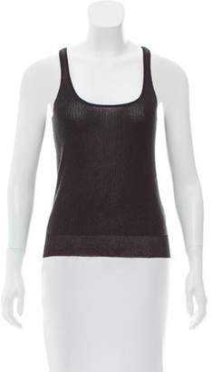 Calvin Klein Collection Sleeveless Beaded Top