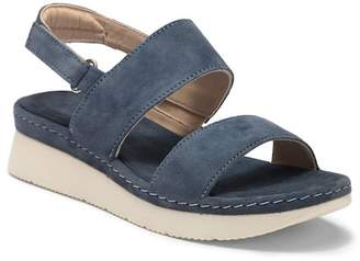 Manas Design Itaca Suede Platform Sandal