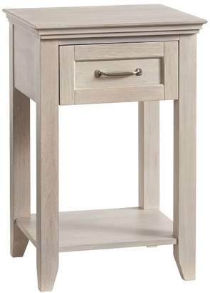 Pottery Barn Teen Hton Bedside Table, Water-Based Brushed Fog