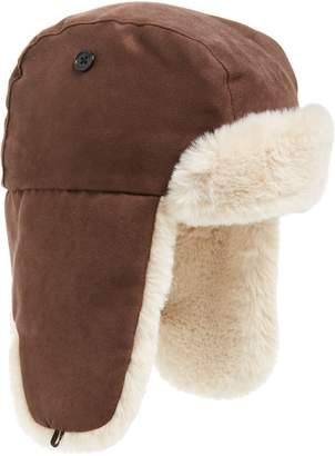 J.Crew crewcuts by Faux Fur Lined Trapper Hat