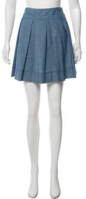 See by Chloe Mini Pleated Skirt