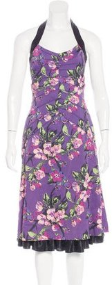 Karen Millen Floral Print Dress $95 thestylecure.com