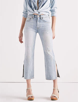 Lucky Brand LUCKY PINS HIGH RISE SIDE SLIT JEAN IN MIRA MAR