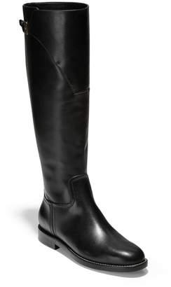 ba40e920364 Cole Haan Black Knee High Women's Boots - ShopStyle