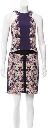 ICB Sleeveless Printed Dress