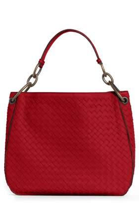 Bottega Veneta Small Loop Leather Hobo