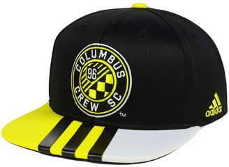 adidas Columbus Crew Sc Authentic Team Snapback Cap