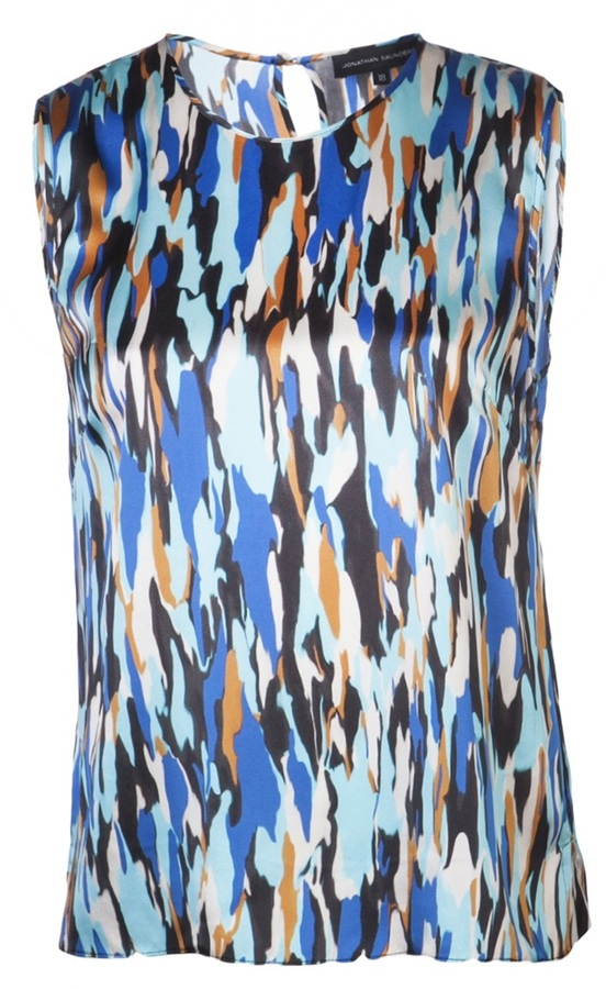 Jonathan Saunders 'Creighton' blouse