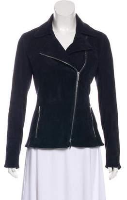 The Row Suede Zip-Up Jacket