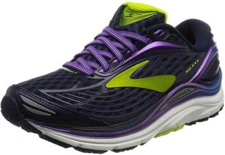 Brooks Women's Transcend 4 Running Shoe (BRK-120239 1B 3788380 8.5 BLK/PNK/TEA)
