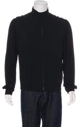 Dolce & Gabbana Woven Zip-Up Jacket