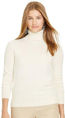 Polo Ralph Lauren Slim-Fit Cashmere Turtleneck $298 thestylecure.com