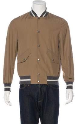 Brunello Cucinelli Snap-Front Bomber Jacket