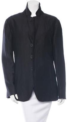 John Varvatos Notch Lapel Boyfriend Blazer $85 thestylecure.com