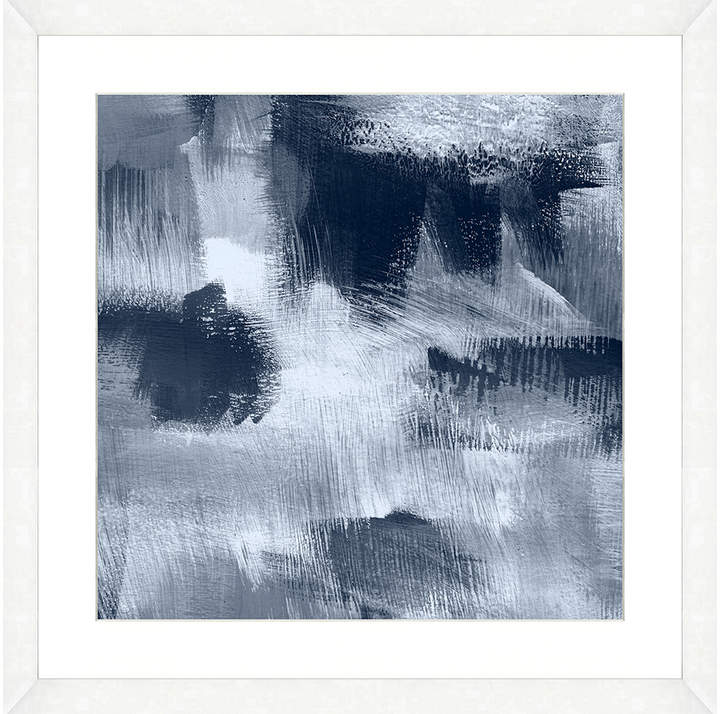 Art Source Blue Abstract (Framed Giclee)