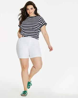 Fashion World White Everyday Denim Shorts