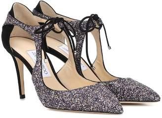 461d53732e96 Jimmy Choo Vanessa 85 glitter pumps
