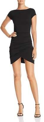 Aqua Cap Sleeve Ruched Dress - 100% Exclusive