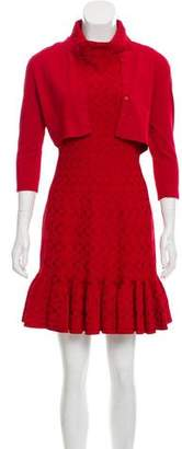 Alaia Mini Cardigan Dress Set