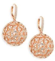 Adriana Orsini Round Ball Post Earrings