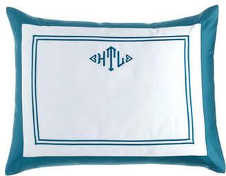 Home Treasures Standard Marco Sham with Monogram
