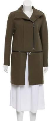 J Brand Convertable Zip-Up Coat