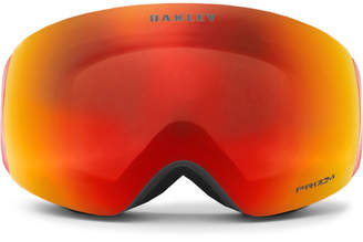 Oakley Flight Deck XM Rimless Prizm Ski Goggles - Men - Orange