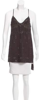 Free People Sleeveless Embellished Top w/ Tags
