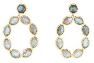 Jamie Wolf 18K Linked Marquise Labradorite Earrings