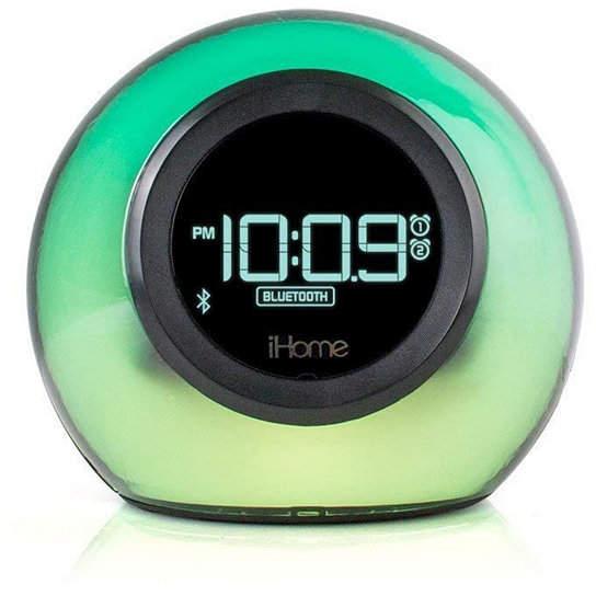 iHome Bluetooth Color Changing Dual Alarm Clock Fm Radio