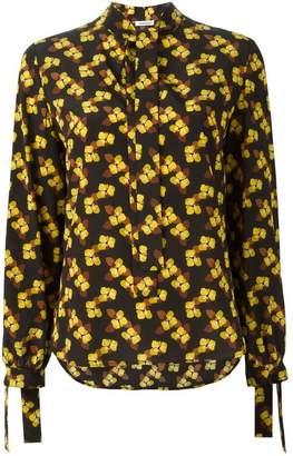 P.A.R.O.S.H. floral print strings blouse