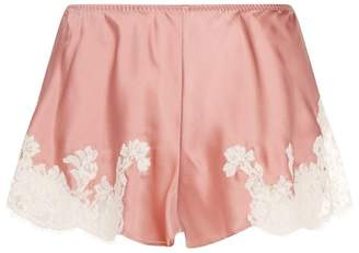 Marjolaine Lace Silk Shorts
