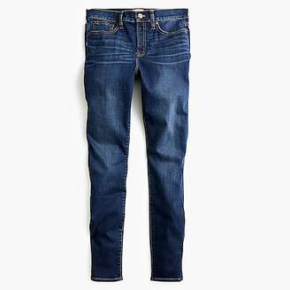 """J.Crew 9"""" high-rise toothpick jean in Point Lake wash with TencelTM"""