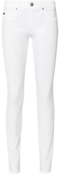 AG JeansAG The Stilt Cigarette Leg White Jeans