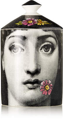 Fornasetti Flora Scented Candle, 300g - White