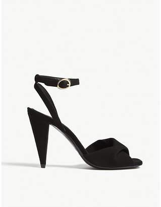 Maje Fairy suede sandals