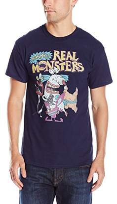 Nickelodeon Men's Aaahh!! Real Monsters Men's T-Shirt